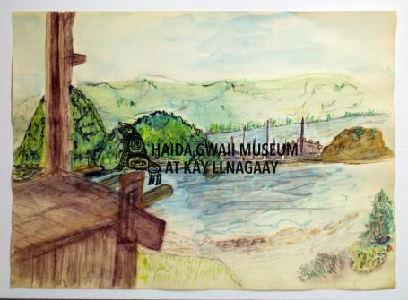 Haida Gwaii Museum Drawings, Paintings & Prints Collection